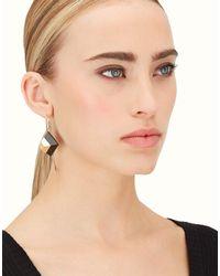 Fendi - Gray Rainbow Earring - Lyst