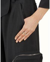Fendi - Multicolor Baguette Ring Baguette Ring - Lyst