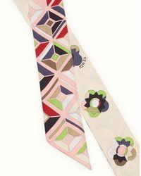 Fendi - Pink Flowerland Wrappy Flowerland Wrappy - Lyst