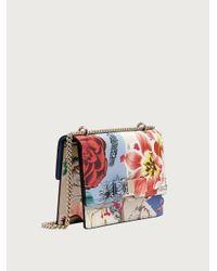 Ferragamo Vara Bow Cross Body Bag (m) - Red