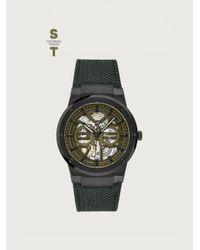 Ferragamo Uhr f-80 skeleton - Grün