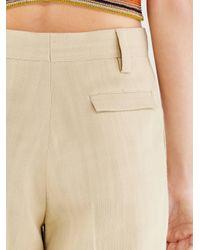 Ferragamo Pantalon demi mesure - Blanc
