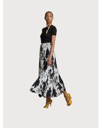 Ferragamo Pleated Skirt - White
