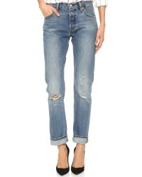 Levi's - Blue 501® Straight Leg Jeans In Ride West - Lyst