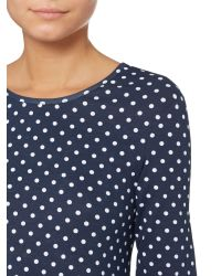 Vero Moda - Blue Long Sleeved Swing Dress - Lyst