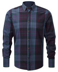 Henri Lloyd Blue Girton Regular Shirt for men