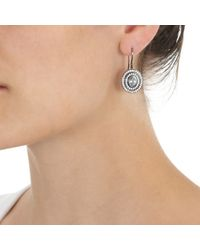 Solange Azagury-Partridge Blue Step Earrings
