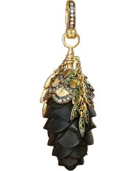 Annoushka - Mythology 18ct Yellow-gold And Diamond Pinecone Amulet Pendant - Lyst