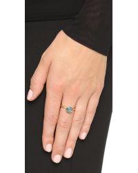 Astley Clarke - London Blue Topaz Oval Stilla Ring - Lyst