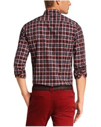 BOSS Orange | Red 'edaslime' | Slim Fit, Cotton Button Down Shirt for Men | Lyst