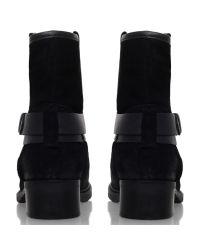 Carvela Kurt Geiger Black Trust Buckle Detail Ankle Boot