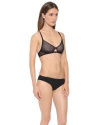 Cosabella - Athena Soft Bra - Black - Lyst