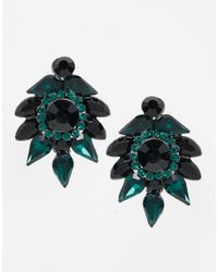 Coast | Black Corine Earrings | Lyst