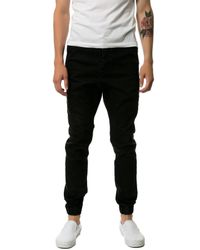 Zanerobe - Black The Slingshot Denimo Joggers for Men - Lyst