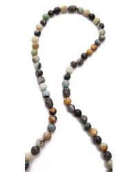 Hipchik Couture - Multicolor Agate Bead Y Necklace Multi - Lyst