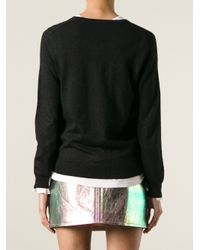 Marc By Marc Jacobs - Black Parrot Print Sweater - Lyst