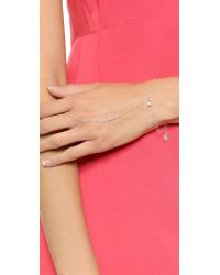 Chan Luu - Metallic Simple Hand Chain - Crystal - Lyst