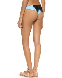 Lolli Paradise Bow Bikini Bottoms - Light Blue