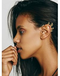 Free People | Metallic Teen Spirit Ear Cuff | Lyst