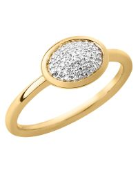 Links of London | Metallic Diamond Essentials Gold Vermeil Ring | Lyst