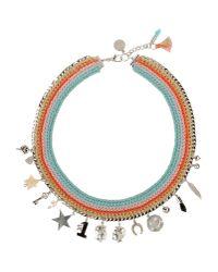 Venessa Arizaga - Blue Necklace - Lyst