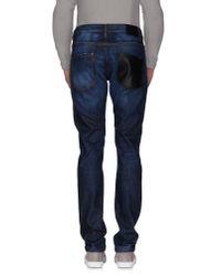 Les Hommes - Blue Denim Pants for Men - Lyst