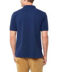 Jaeger Blue Cotton-piqué Polo Shirt for men