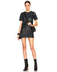 Marni   Green Bonded Jersey Pimpernel Print Dress   Lyst