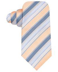 Vince Camuto | Blue Nirone Stripe Slim Tie | Lyst
