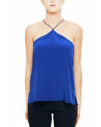 Cami NYC | The Halter Electric Blue | Lyst