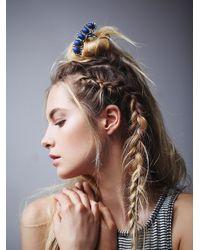 Free People - Metallic Womens Quintet Stone Hair Pick - Lyst