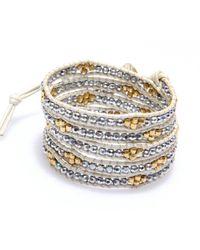 Nakamol | Multicolor Honeycomb Wrap Bracelet-silver | Lyst