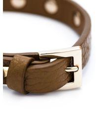 Valentino Brown 'rockstud' Bracelet