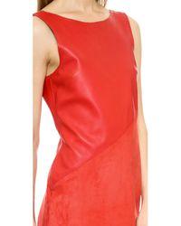 Rag & Bone - Gracie Dress - Royal Red - Lyst