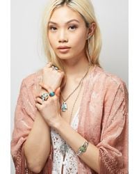 Forever 21 | Blue Peyote Bird Turquoise Ring | Lyst