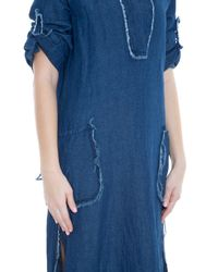 Raquel Allegra - Blue Denim Dress - Lyst