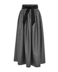Martin Grant | Gray High Waisted Skirt | Lyst