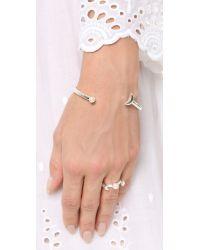 Pamela Love Metallic Moon Cuff Bracelet