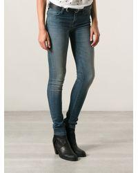 IRO - Blue Raquel Skinny Jeans - Lyst