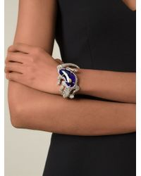 Alexander McQueen | Metallic Salamander Bracelet | Lyst