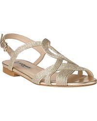 L.K.Bennett - Metallic Winnie Strappy Sandals - For Women - Lyst
