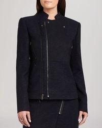 BCBGMAXAZRIA Gray Jacket - Darin Moto
