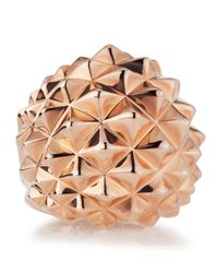 Stephen Webster | Pink Superstud 18k Rose Gold Plated Dome Ring | Lyst