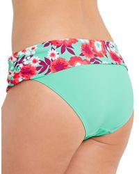 Curvy Kate - Multicolor Aloha Fold Over Brief - Lyst