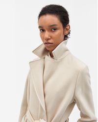 Filippa K Natural Victoire Coat Sandstone