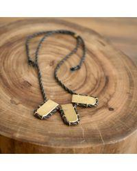 Erin Considine | Metallic Triple Gully Necklace | Lyst