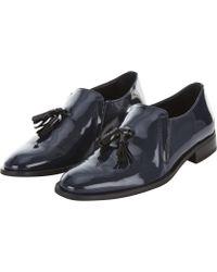 Finery London - Blue Embrook Shoe - Lyst