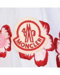 4 MONCLER SIMONE ROCHA Red Camicia Shirt