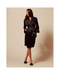 Agent Provocateur - Black Classic Dressing Gown - Lyst