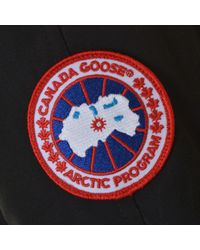 Canada Goose - Black Chilliwack Bomber Jacket - Lyst